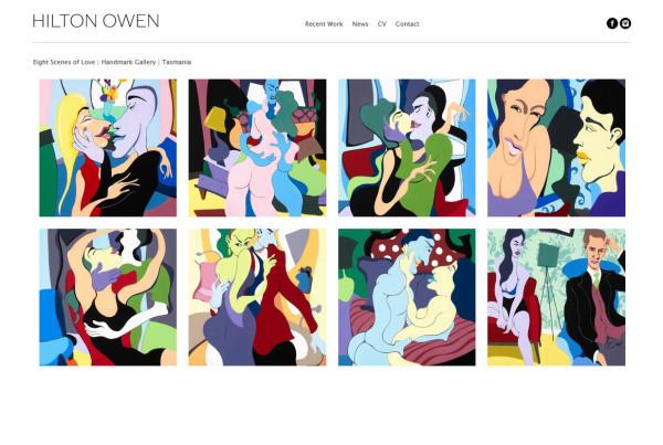 HiltonOwen-artist-website